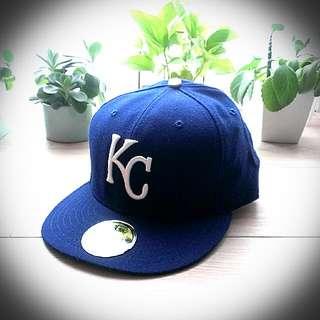 New Era 美國嘻哈潮帽電繡棒球帽 世界大賽冠軍 堪薩斯皇家隊