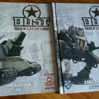 Dust Warfare Core Book And Campaign