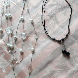 Necklaces $5 each