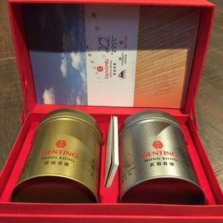 麗星遊輪雲頂香港Genting知名茶種高級禮盒(有三種)
