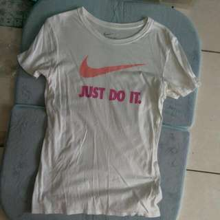 Nike Just Do It 短T女版