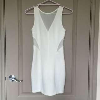 BRAND NEW Pinkstitch White Dress
