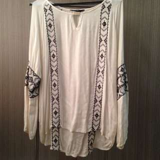 RESERVED White Blouse