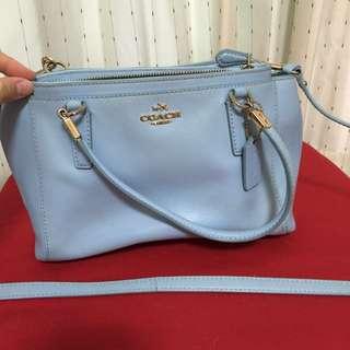 COACH水藍色小包 二手商品