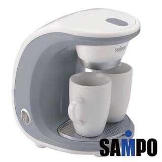 聲寶雙杯份咖啡機HM-L11021AL