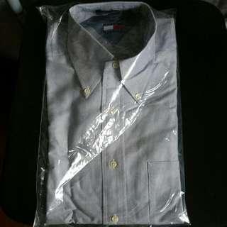 Brand New, Tommy Hilfiger, 15 Half, Off Blue Dress Shirt