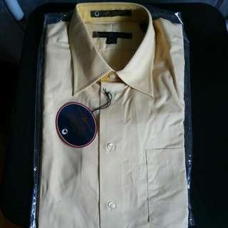Brand New, Tommy Hilifiger, 15 Half, Yellow Dress Shirt