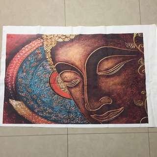Buddha Painting Print On Canvas