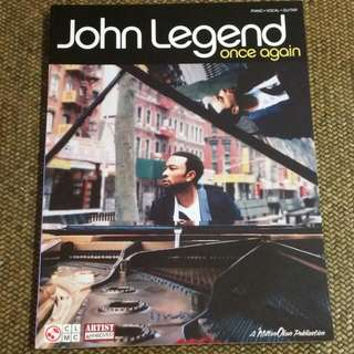 John Legend Sheet Music