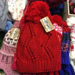 買一送一基本款素色台灣製毛帽