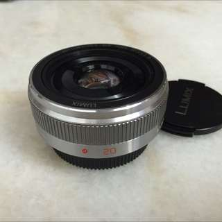 Panasonic Lumix 20mm F1.7 Mark 2 Lens