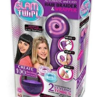 GLAM TWIRL HAIR BRAIDER