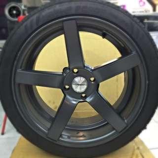 VOSSEN 17吋鋁圈+輪胎