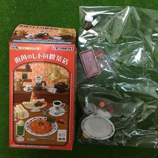 Re-ment 盒玩 食玩 咖啡店 咖哩飯