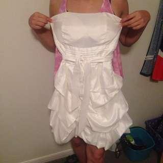 澳洲款白色小禮服