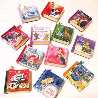 【徵收】迪士尼 公主系列 故事書 書本 糖果盒 鐵盒