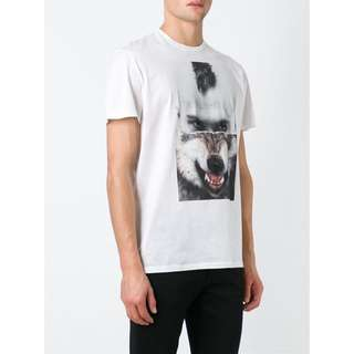 Neil Barrett Split Portrait T-shirt