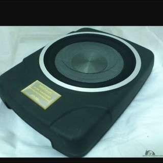 MBQ Under Seat Active Sub Woofer(Reserved For Viewing On Friday)