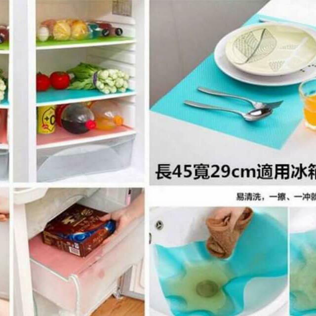 抗菌防汙吸潮萬用冰箱墊