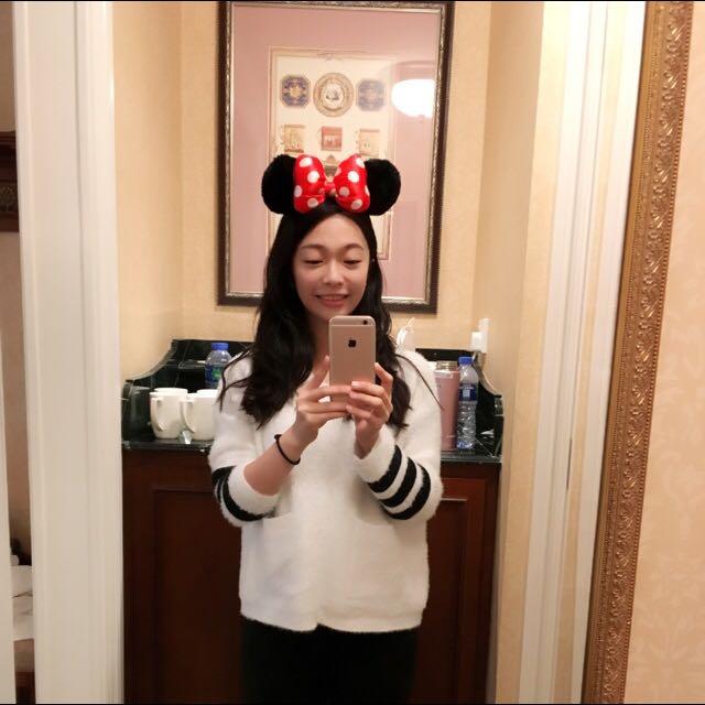 迪士尼米妮髮箍