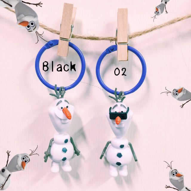 雪寶 鑰匙圈