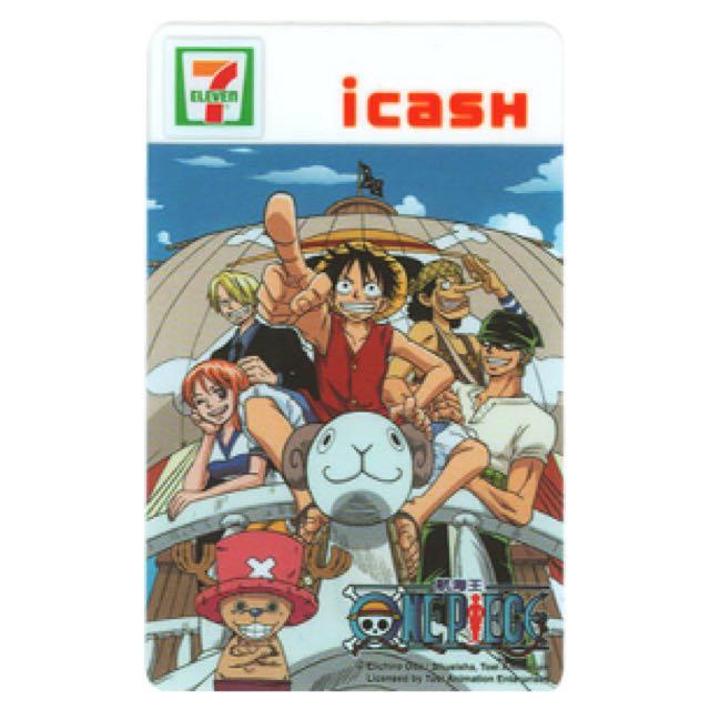 絕版現貨 全新未使用 航海王 海賊王 黃金梅莉號 icash i-cash 悠遊卡 icash2.0 7-11