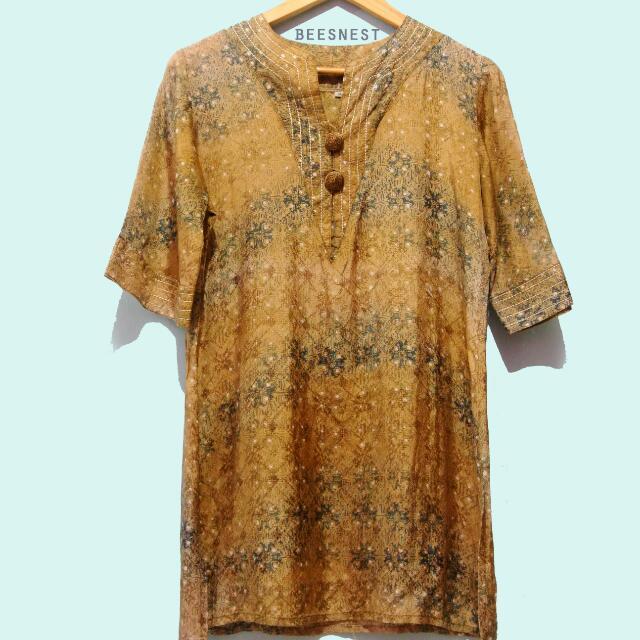 Blouse Batik Dobby