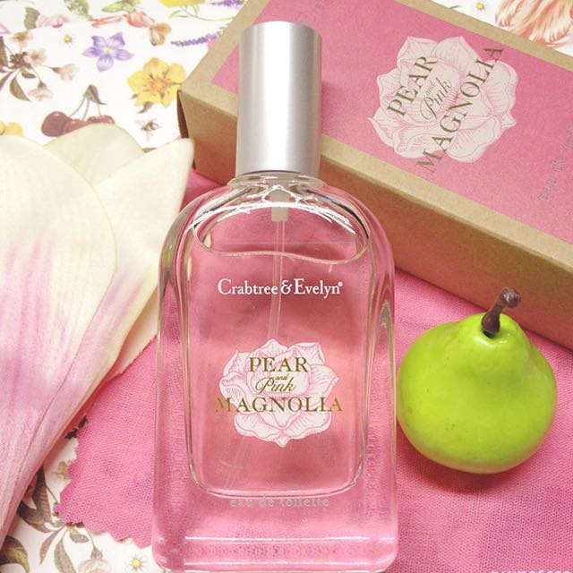 BN Crabtree And Evelyn Perfume Pear and Pink Magnolia Eau de Toilette (30ml)