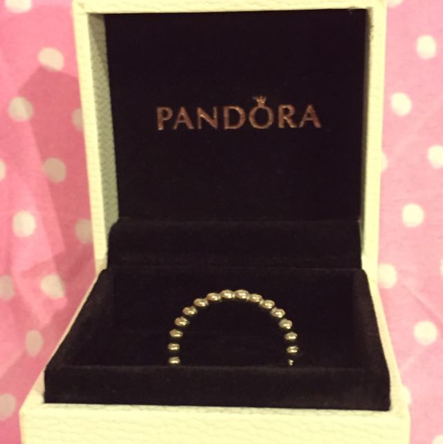 4edfd0278 Brand New Pandora Bubble Stacking Ring, Luxury on Carousell