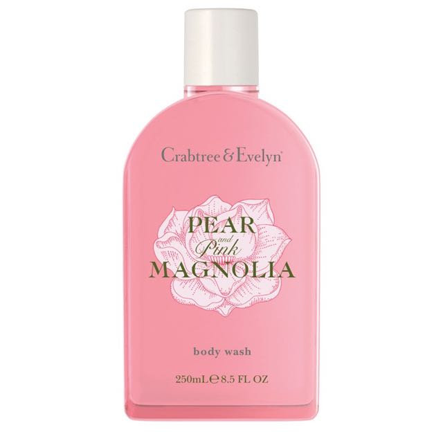 Brand New Crabtree And Evelyn Pear and Pink Magnolia Body Wash (250ml)