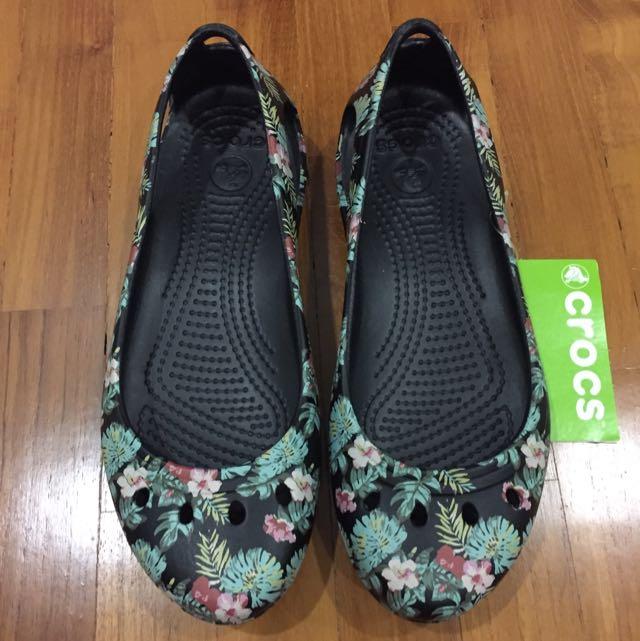Tropical Printed Crocs \