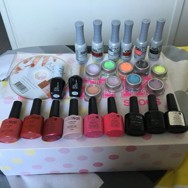 SOLD! Gel Nail Polish Set