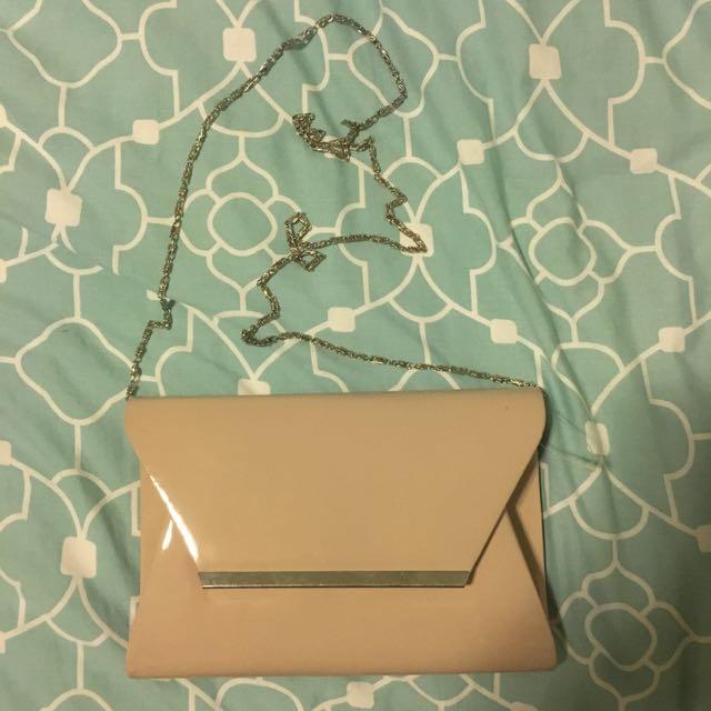 Cream Side Bag