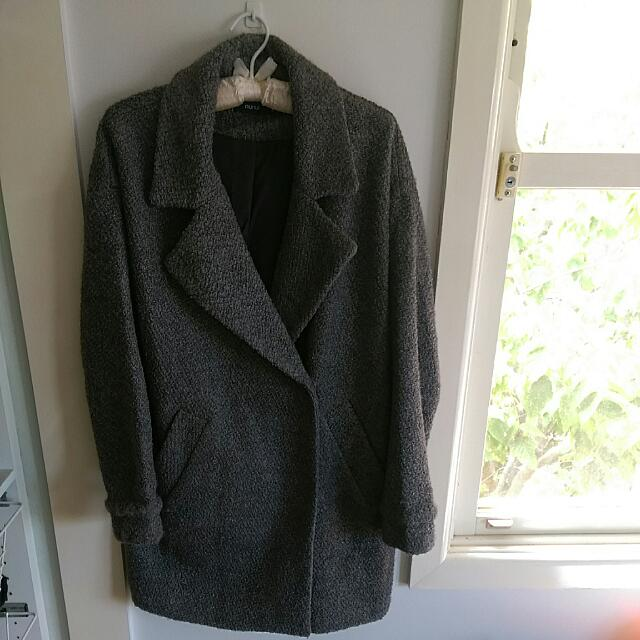 NEW Grey Trench Coat