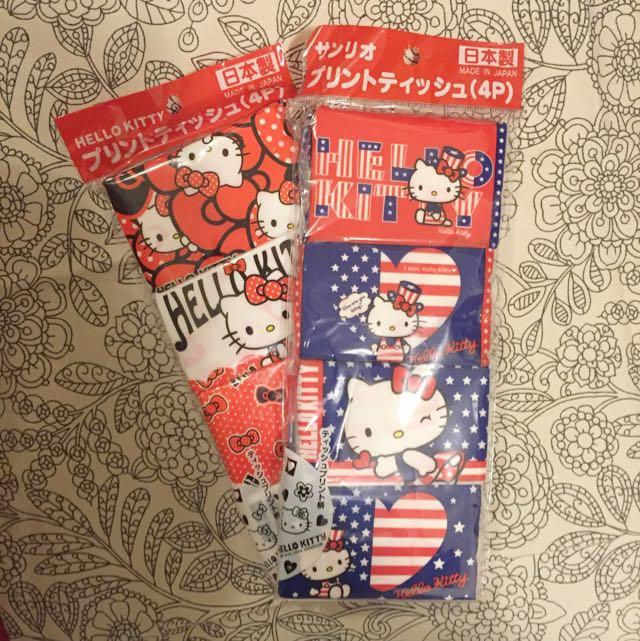 Hello Kitty Tissue