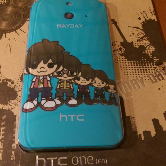 HTC E8 五月天手機殼