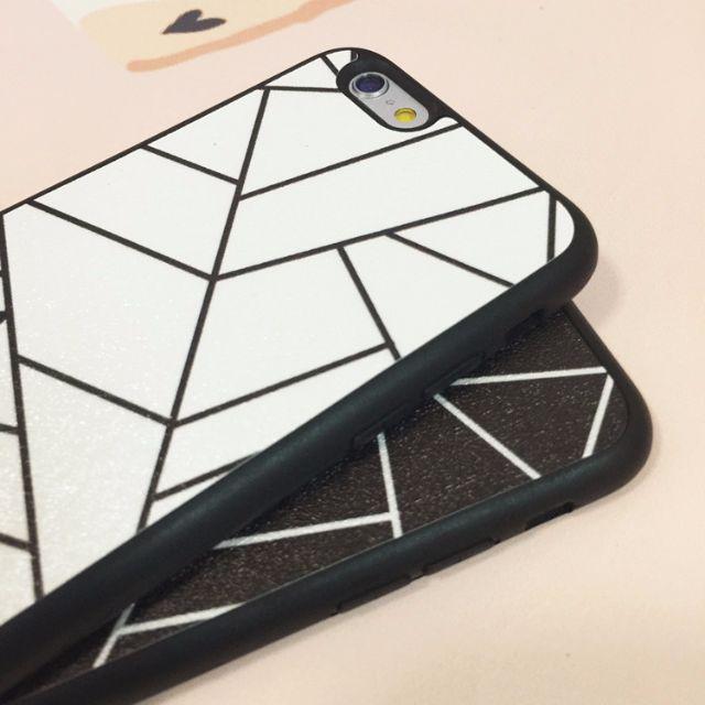 iphone6s/plus 「菱形蜘蛛網」手機殼