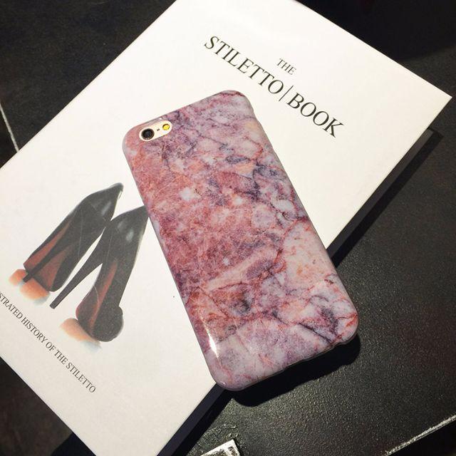 iphone6s/plus 「緋紅之心」 大理石殼