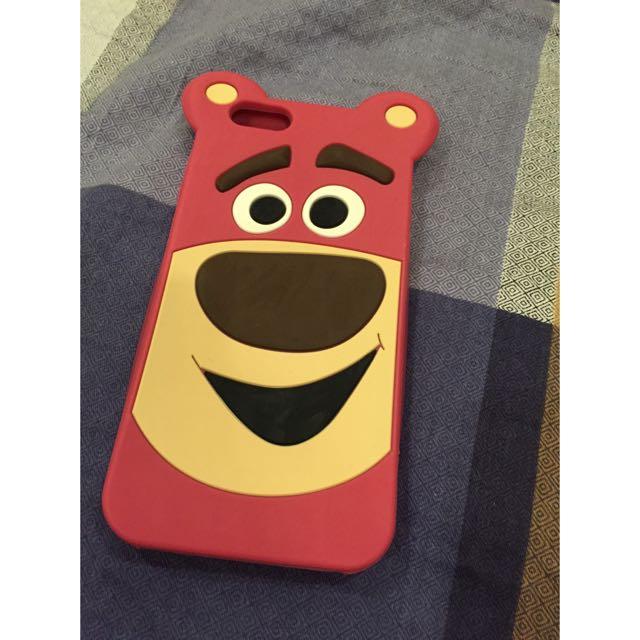 iPhone 6/6s熊抱哥矽膠手機殼