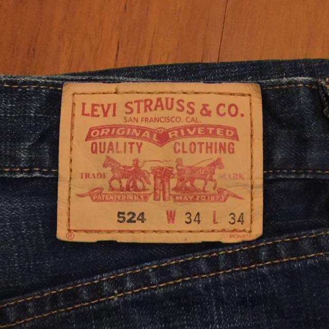 保留 Levi's牛仔褲(二手)