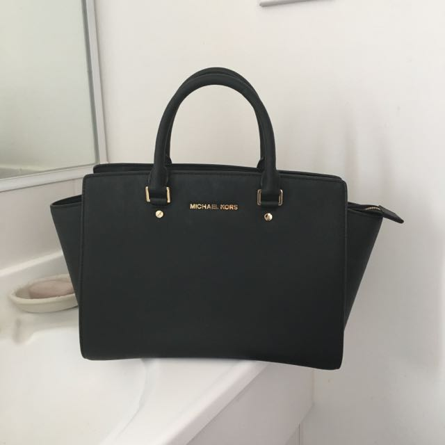 Michael Kors Saffiano Leather Handbag