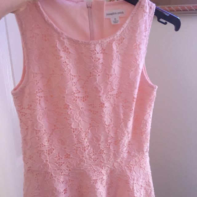 Pumpkin Patch Size 8 Dress