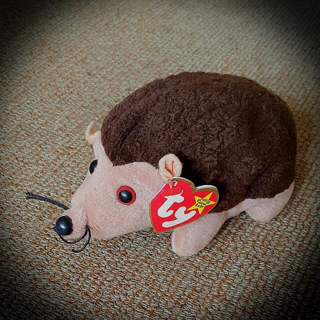 64f5e3eb8c0 Retired TY Beanie Baby - Prickles The Hedgehog