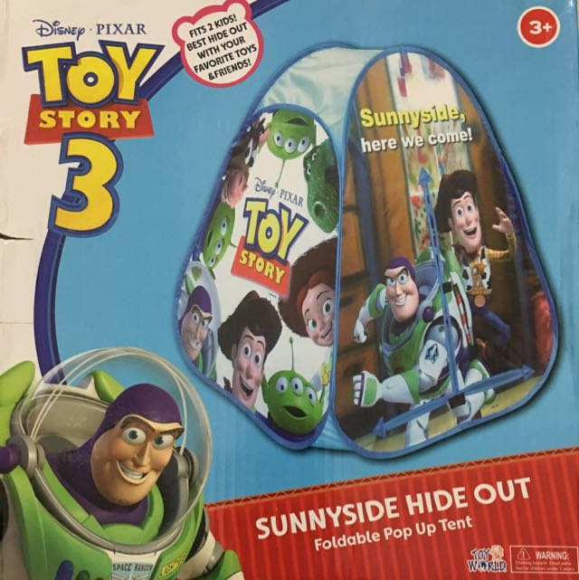 (Reserved) Toy Story 3 Sunnyside Hide Out Foldable Pop Up Tent  sc 1 st  Carousell & dol_finu0027s items for sale on Carousell