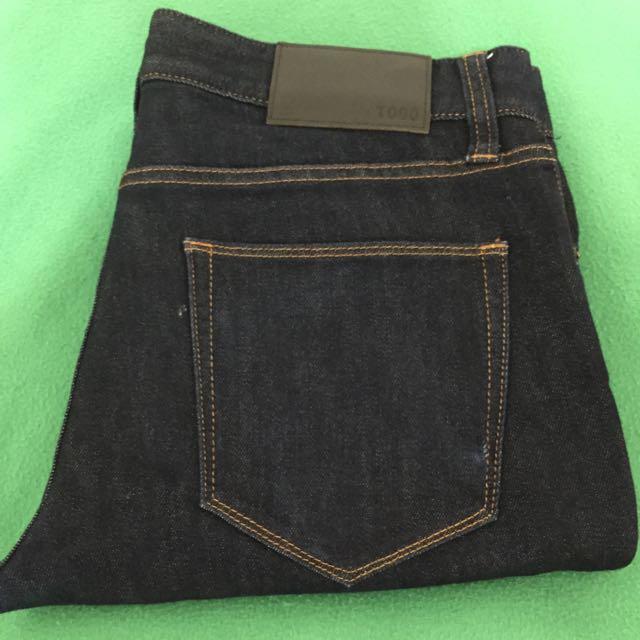 🔹降價!Uniqlo Skinny Fit 緊身牛仔褲 單寧 深色