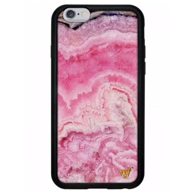 wildflower pink crystal iphone 5 6 6+ case 3c3b81839