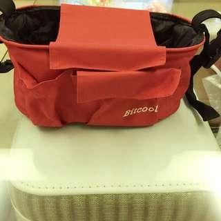 「全新」紅色推車掛袋~200含運費