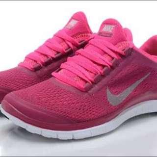 Women's Nike Free 3.0 V5 (Pink/White)