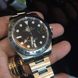 Pre-owned Rolex Explorer II 216570