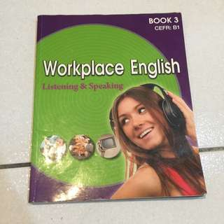 Workplace English BOOK3
